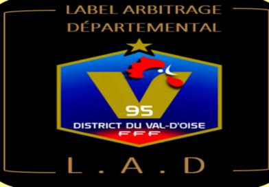 Le Val d'Oise sort son Label Ecole Arbitrage