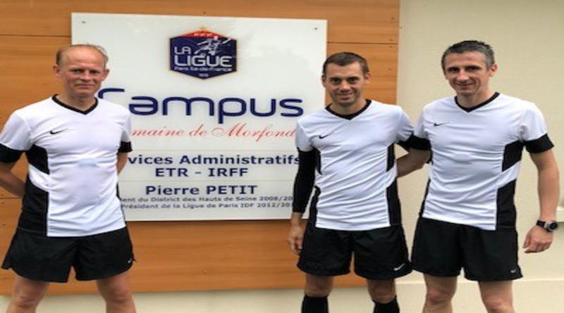 Clément Turpin se prépare à Campus Paris